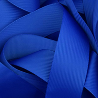 Blue Grosgrain Ribbon 10mm