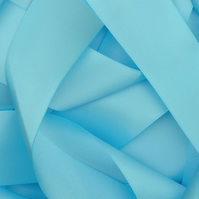 Baby Blue Satin Ribbon 10mm