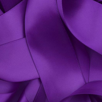 Purple Satin Ribbon 10mm