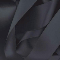 Black Satin Ribbon 10mm