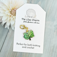 Tree of Life Stitch Marker, Progress Keeper