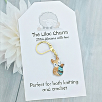 Fox Stitch Marker