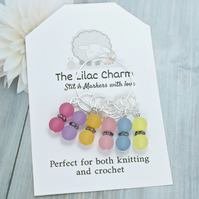 Frosted Stitch Markers