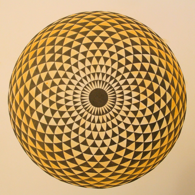 optical flower ball