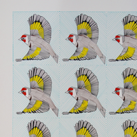 Limited edition and signed Giclee print of 'A Goldfinch Charm' by Ann-Marie Ison
