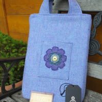 Harris Tweed shopping bag - tote - handbag - applique - shopper