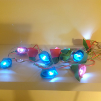10 LED Felted Fairy Lights