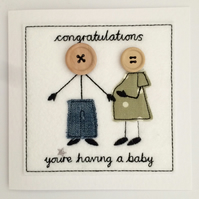 Pregnancy Congratulations Card