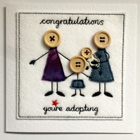 Adoption Card - Ma, Mama & Child - Children