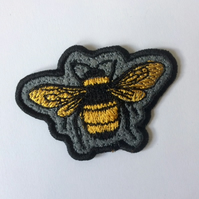 Bee - Sew On Patch