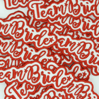 9 letter Patch - 2.5cm Letter Height - Made to Order Embroidery