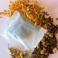 Relaxing Bath Tea Witches Magic Ritual Herbs