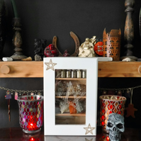 Wallhanging Witches Herb Cabinet, Ritual Magic Ingredients