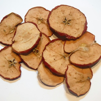 Dried Apple Slices Witches Ritual Magic Protection