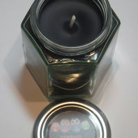 Liqourice smelling Witches Ritual black candle