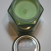 Lime scented green candle Witches Ritual Candle