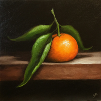 Darling Clementine, original oil painting