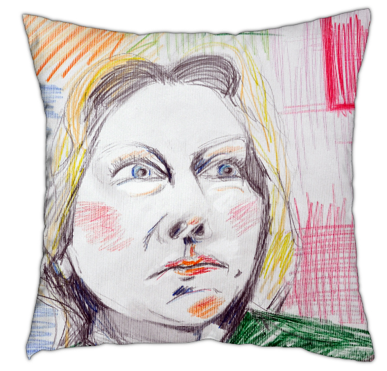 West End Girl - Cushion 40cm x40cm