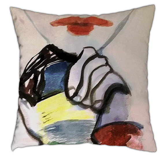 Watch Cushion 40cm x 40cm