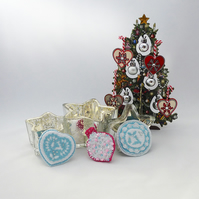 Christmas Bauble brooch