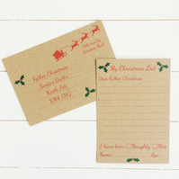 Christmas Letter Template To Father Christmas