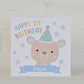 Bears Personalised Birthday Card for Children