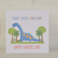 Daddy you're ROAR-SOME Father's Day Card