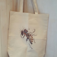3 x Bee Printed Cotton shopping bags OFFER!!