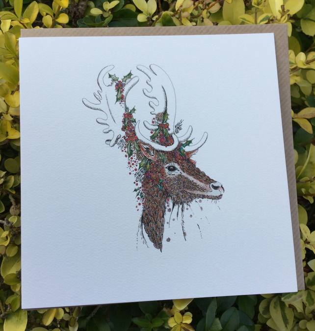 Reindeer  Stag Greeting card