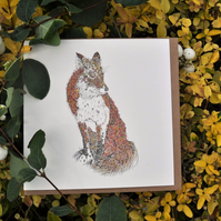 Fantastic Fox Greeting Card