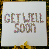 Get well soon Card end of line offer