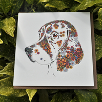 6 x Beagle Greeting cards