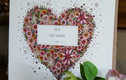 Pink Floral Heart Sentiments