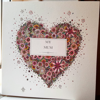 My Mum Greeting card