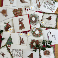 Mixed pack of 6 Christmas cards Offer