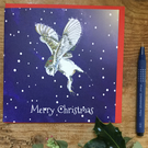6 Christmas card pack (2 designs Hare and Owl)