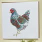 Brand NEW Fleur the Chicken Greeting card
