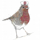 12 x 'We Salute You' Key Worker and NHS tribute Robin Greeting cards x 12