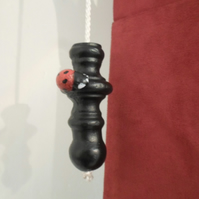 Ladybird Light Pull..........................Wrought Iron (Forged Steel)