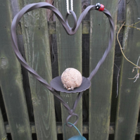 BIRD FEEDER KIT................Wrought Iron (Forged Steel) With Ladybird Feature