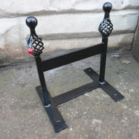 "WROUGHT IRON  ""LADYBIRD"" BOOT SCRAPER"