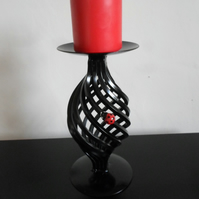 Candle Holder&Candle.................Wrought Iron(Forged Steel)&Ladybird Feature