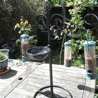 Wrought Iron Bird Feeding Station Kit