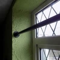 INTERNAL RAIL...................Wrought Iron (Industrial Steel) UK Free Post