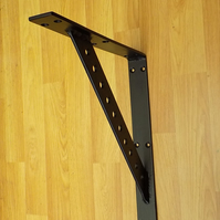 1. Large Shelf Bracket........Wrought Iron (Forged Steel) Custom Made