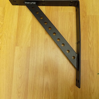 1. Large Shelf Bracket........Wrought Iron (Forged Steel) Hand Made