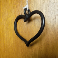 Heart Light Pull & Cord .................Wrought Iron(Forged Steel) UK Free Post