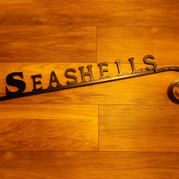 House Name Sign................Wrought Iron (Forged Steel) UK Free Post