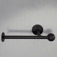 Toilet Roll Holder.................Wrought Iron (Forged Steel) UK Free Post