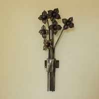Wall Flowers.........................Wrought Iron (Forged Steel) Hand Crafted
